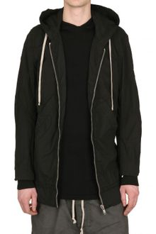 Rick Owens Stretch Cotton Poplin Sport Jacket - Lyst