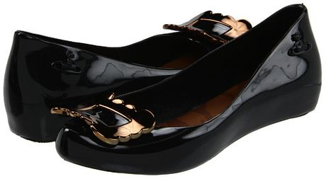 Vivienne Westwood Anglomania + Melissa Ultragirl Vii in Black (b) - Lyst