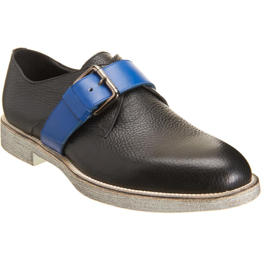 pierre hardy contrast monk shoe in blue for men gunmetal lyst. Black Bedroom Furniture Sets. Home Design Ideas