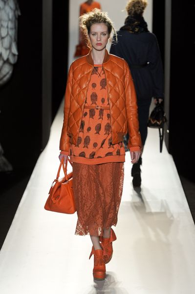 Mulberry Fall 2012 Wild Things Print Sweatshirt  in Orange - Lyst