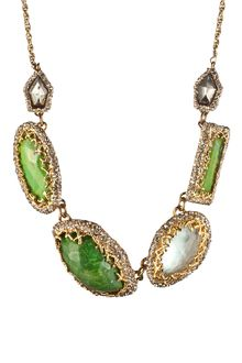 Alexis Bittar Elements Stone Link Necklace - Lyst