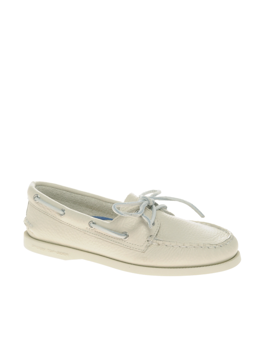 Womens Leather Sperry Shoes