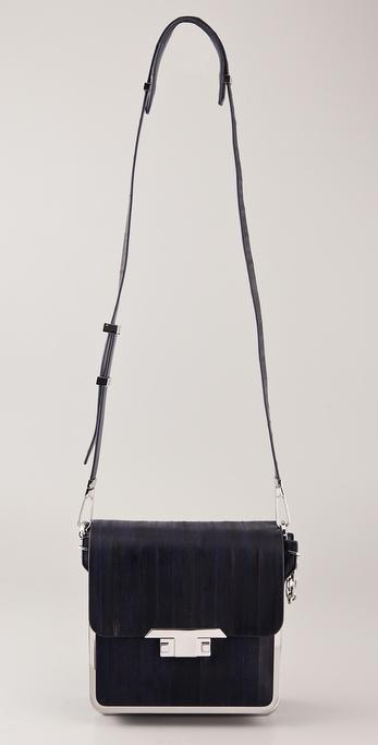 861e5cc34a Theyskens' Theory Aeel Frame Cross Body Bag in Black - Lyst
