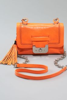 Diane Von Furstenberg Mini Harper Bag, Neon Orange - Lyst