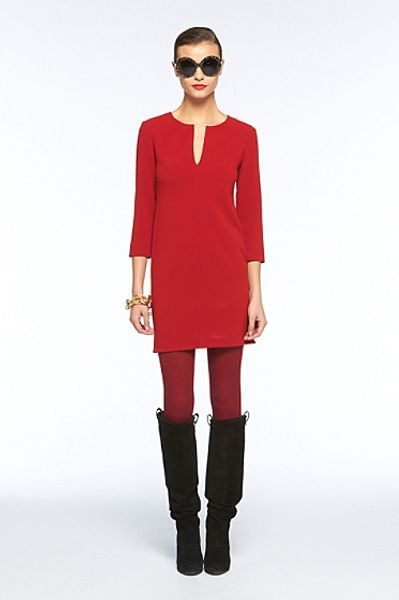 Diane Von Furstenberg Aurora Mini Dress in Red (red spice) - Lyst