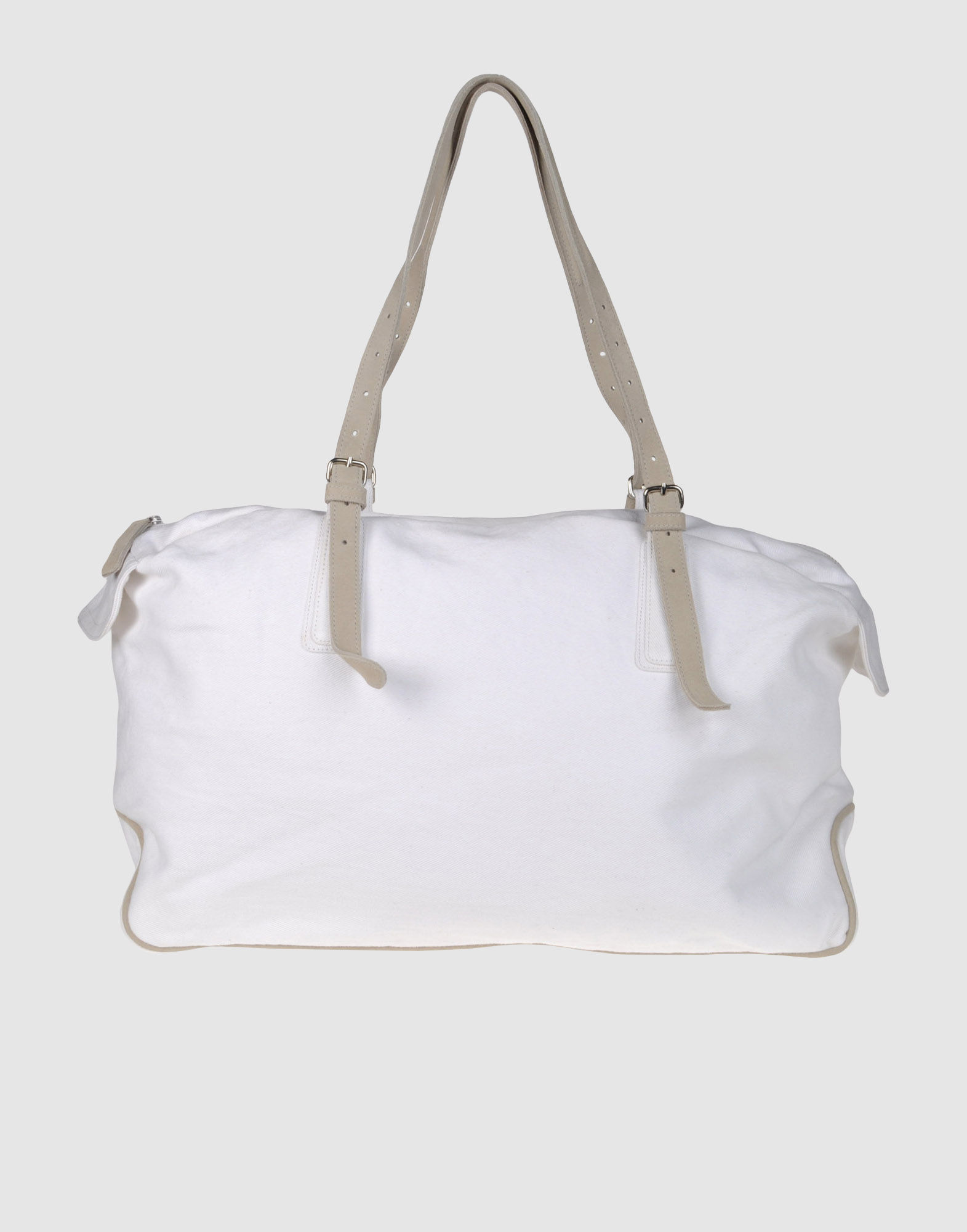 6b9a440a23d1 Lyst - Dries Van Noten Large Fabric Bags in White