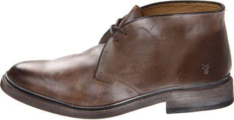 Frye Mens James Chukka Boot In Brown For Men Tan Lyst