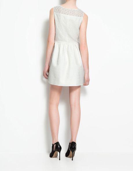 Zara Tulip Dress Zara Tulip Dress in White