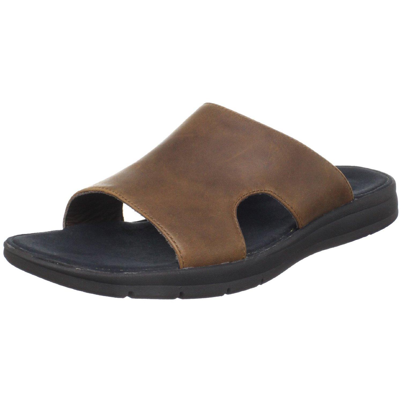 Cole Haan Mens Air Odell Slide Sandal In Brown For Men