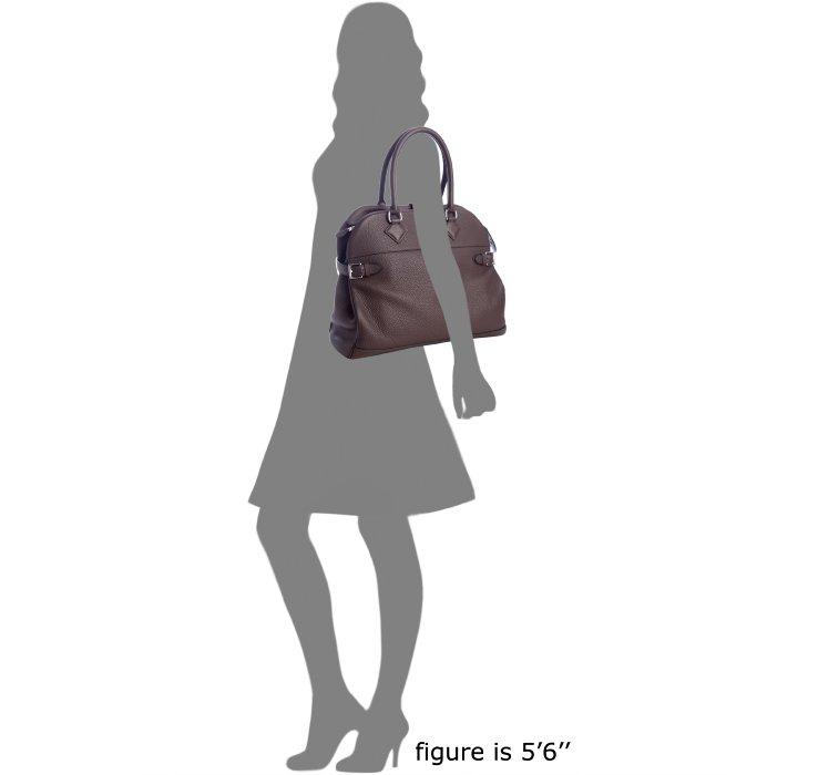 Herm¨¨s Coffee Brown Leather Atlas Top Handle Bag in Brown (coffee ...
