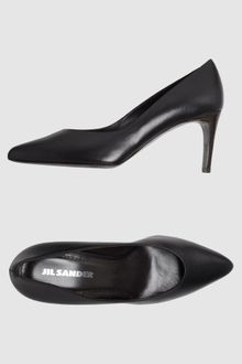 Jil Sander Closed Toe Slip Ons - Lyst