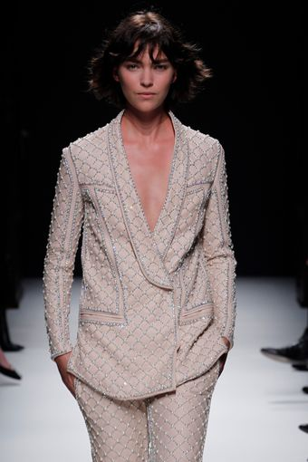 Balmain Fall 2012 Runway Look 31 - Lyst