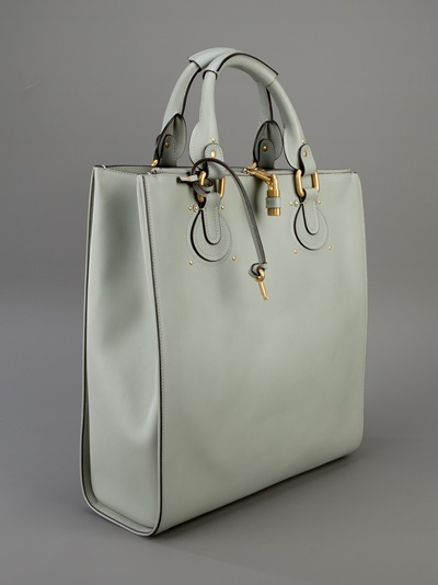 Chlo¨¦ Aurore Tote in Green | Lyst