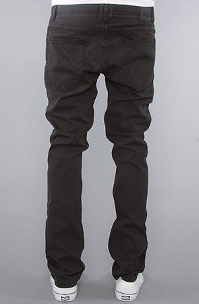 Comune The David Jeans in Soft Black Wash in Black for Men