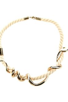 Chloé Rope Snake Necklace - Lyst