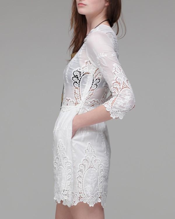 Lyst Dolce Vita Valentina Dress In White