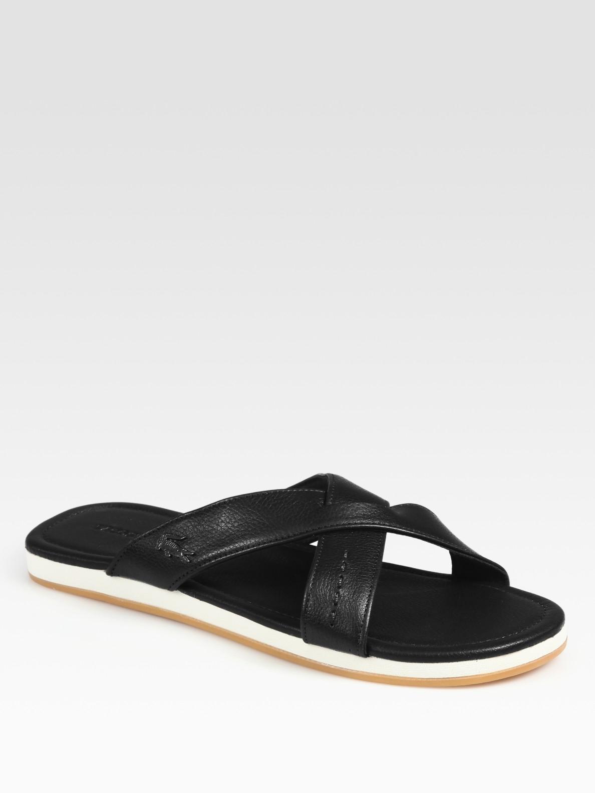 10ee2742c Leather Sandals For Men Lacoste ~ Leather Sandals For Men