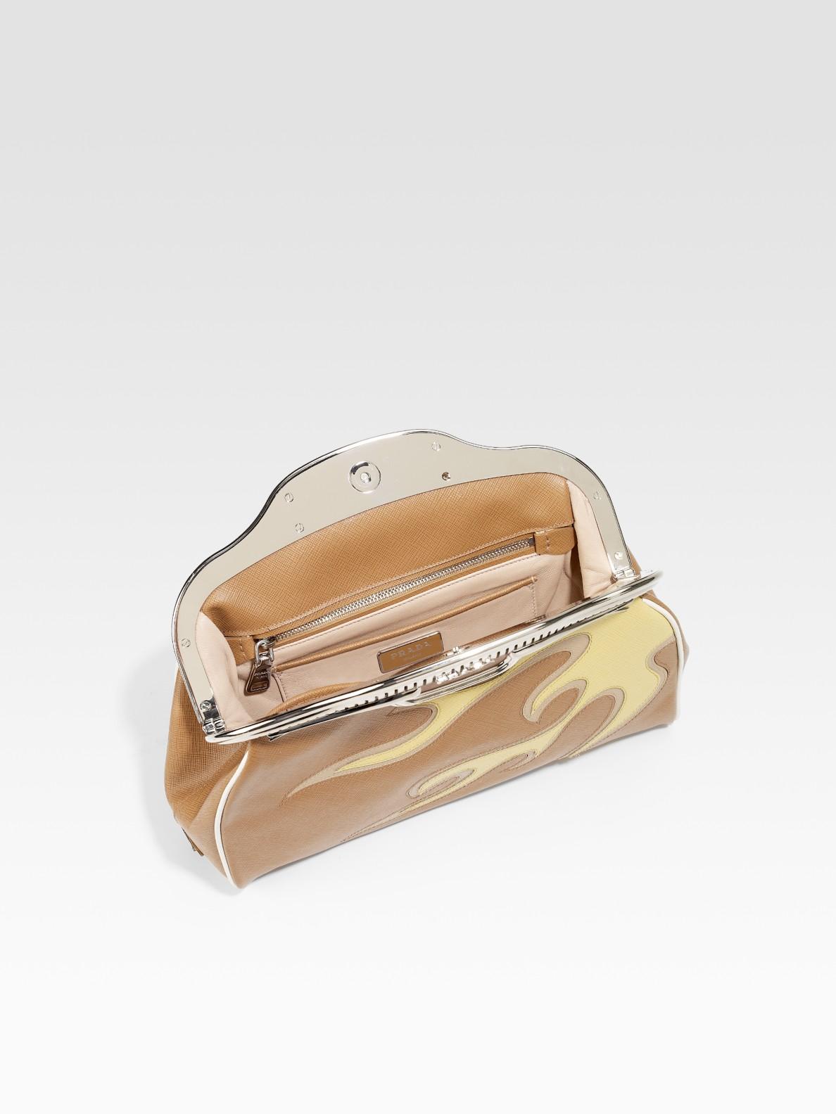 orange prada - prada flame clutch, prada mens wallets online