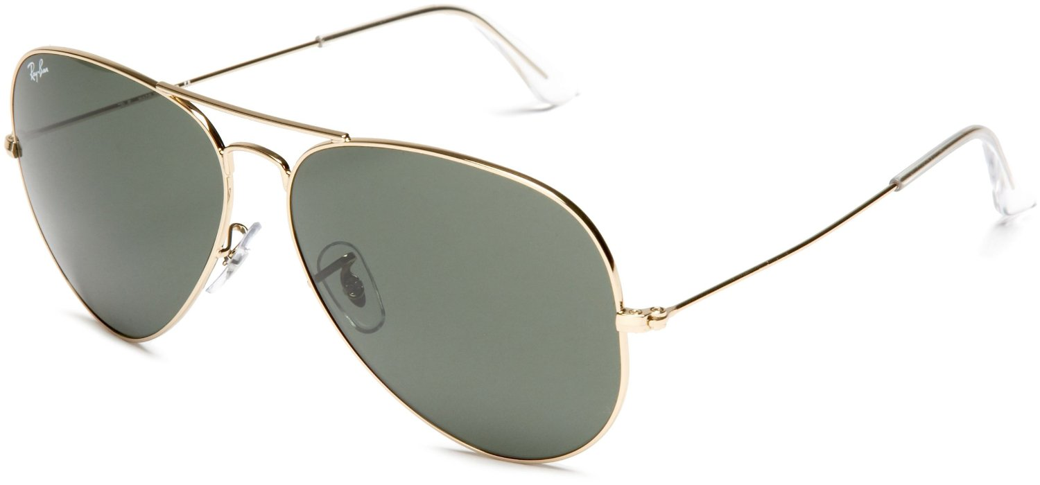Ray-ban Ray-ban Aviator Sunglasses in Gold for Men (gold ...