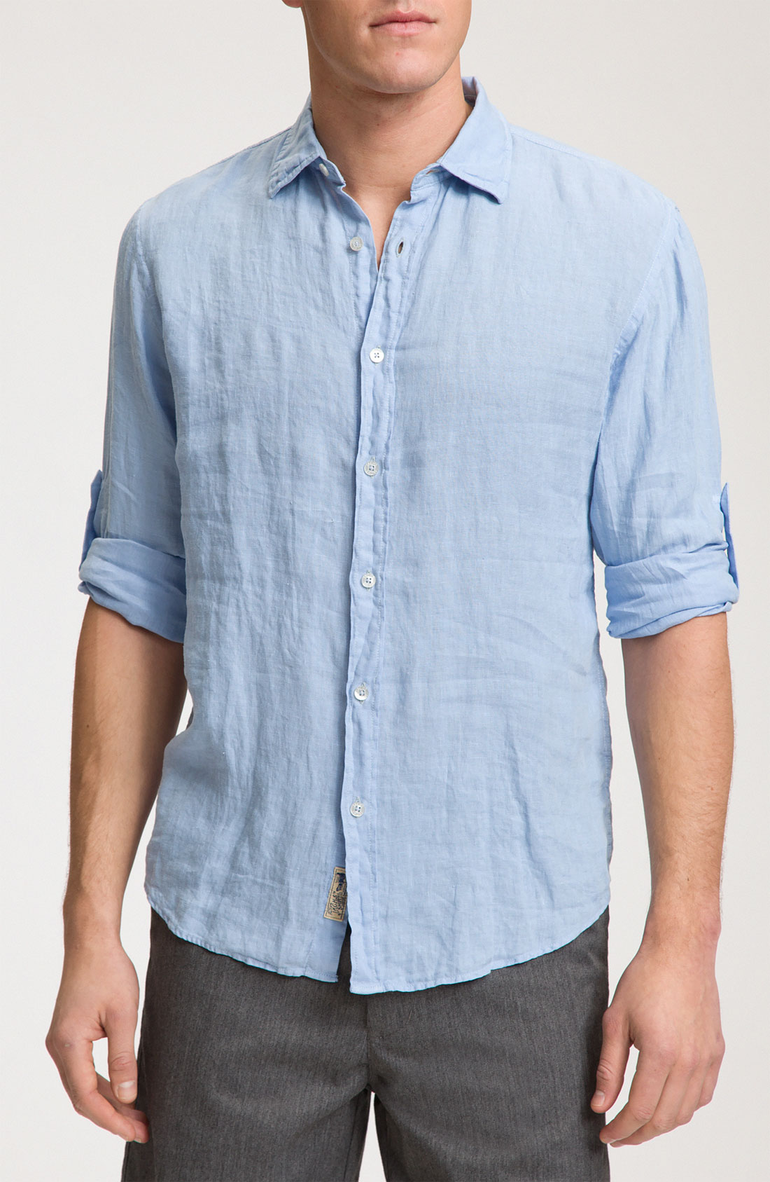 Men's Long Sleeve Linen Shirt, with roll up Sleeves. from $ 24 out of 5 stars RALPH LAUREN. Mens Button Up Long Sleeve Linen Shirt. from $ 40 81 Prime. out of 5 stars 3. EastLife. Mens Cotton Linen Shirts Botton up Summer Casual Long Sleeve Tops. from $ 9 99 Prime. 5 out of 5 stars 1. Cubavera.