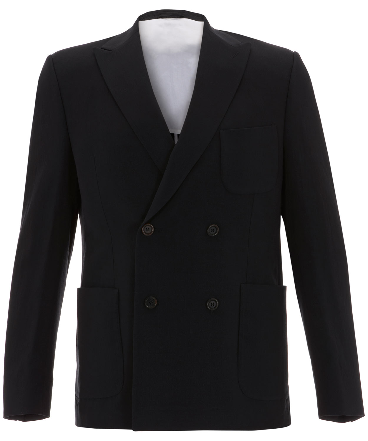 20926ec71be2 Our Legacy Navy Double Breasted Barre Blazer in Blue for Men - Lyst
