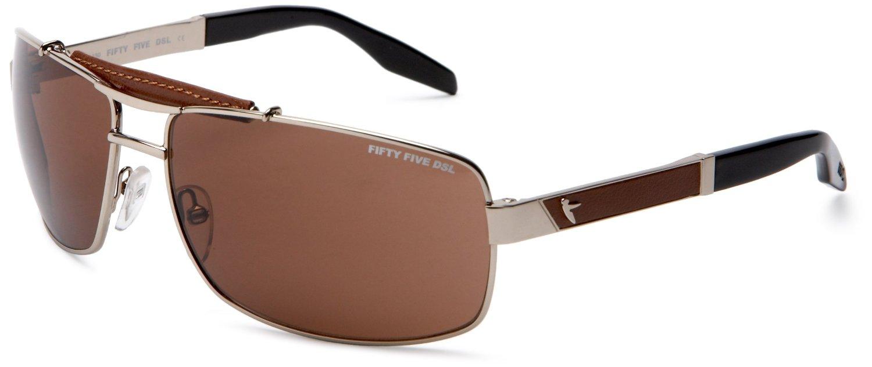 Diesel Mens Zingri Aviator Sunglasses in Brown for Men ...