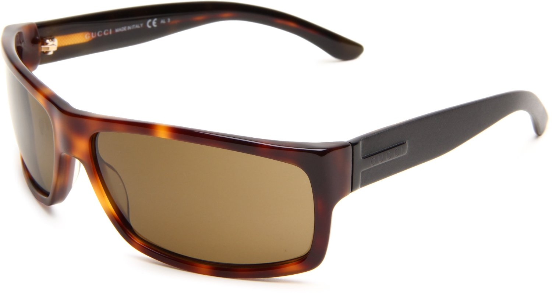 Gucci Mens S Wrap Sunglasses in Brown for Men (havana ...