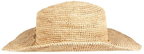 Allsaints Maurette Hat in Beige (natural) - Lyst