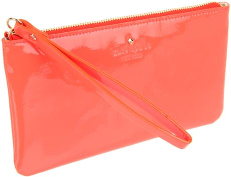 Kate Spade New York Harrison Street Jenny Ann Wallet in Pink (coral)