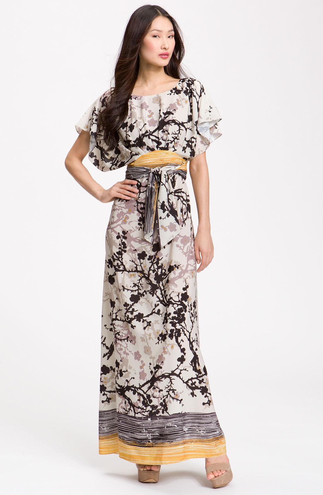 Suzi chin maxi dress