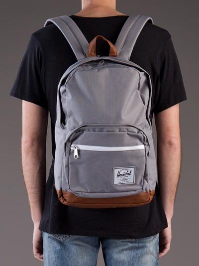 65f8935eb9fa Herschel Supply Co.  pop Quiz  Backpack in Gray for Men - Lyst