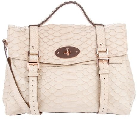 Mulberry Alexa Bag in Beige (cream) - Lyst