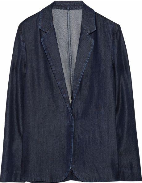 Acne Studios Tilda Denim Blazer in Blue (denim) - Lyst