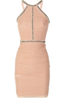 Rachel Gilbert Marchella Embellished Silkgeorgette Dress - Lyst