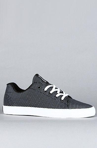 Supra The Assault Sneaker in Black Polka Dot Nylon in Black for Men
