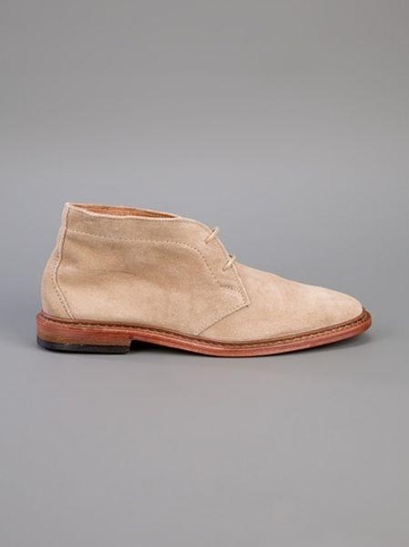 Allen Edmonds Suede Desert Boot In Brown For Men Desert