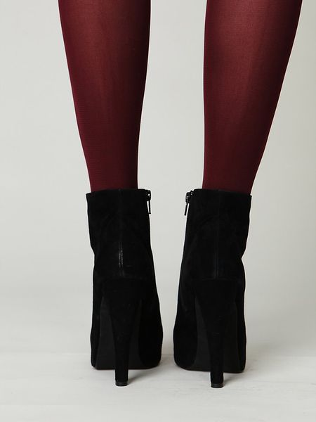 Free People Sgt Pepper Ankle Boot In Black Black Suede