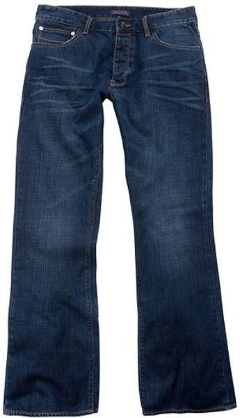 Ted Baker Bogan Usedlook Jeans Light Wash in Blue for Men