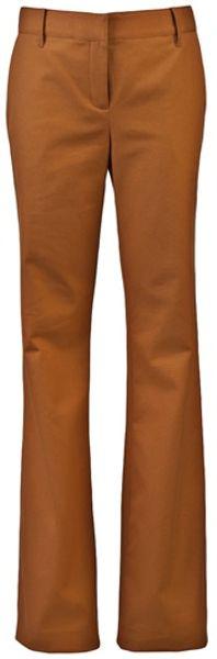 Proenza Schouler Classic Trouser in Beige (camel)