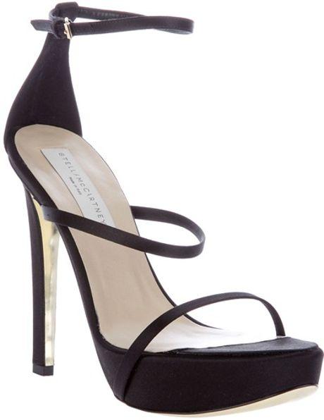 Stella Mccartney Strap Shoe in Black