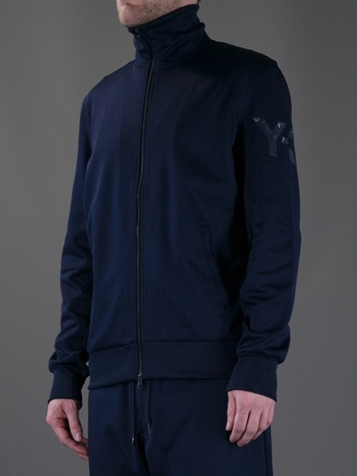 217ccb8e3 Y-3 Classic Track Top in Blue for Men - Lyst