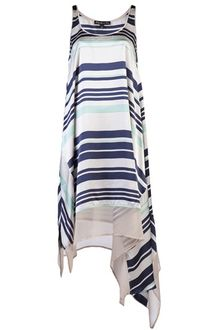 Elizabeth And James Adrienne Stripe Dress - Lyst