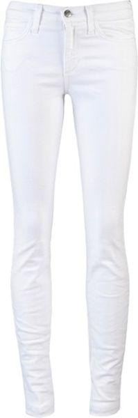 Joe's Jeans High Rise Skinny Jenny in White