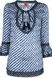 Tory Burch Pattern Blouse - Lyst