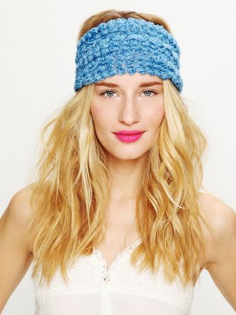 Free People Tatty Floral Gauze Headwrap - Lyst