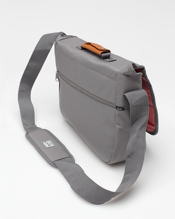 f13072128f38 Lyst - Herschel Supply Co. Mill Messenger Bag in Gray for Men