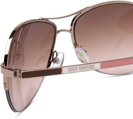 1ced569187c Juicy Couture Genre Aviator Sunglasses