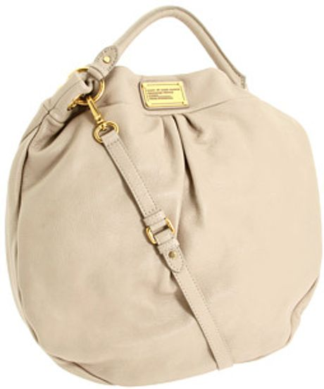 Marc By Marc Jacobs Classic Q Huge Hillier Hobo in Beige (c) - Lyst