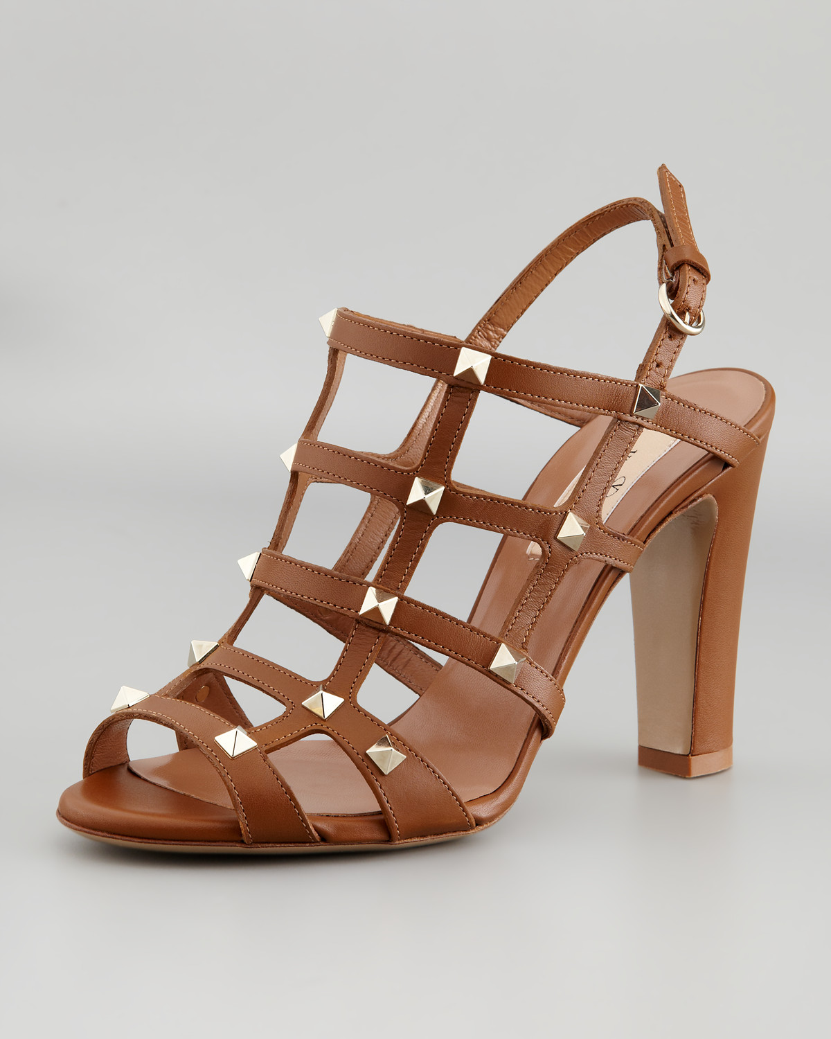 Valentino Suede Cage Sandals footlocker pictures for sale sale Manchester great deals cheap online sale under $60 NxBRku