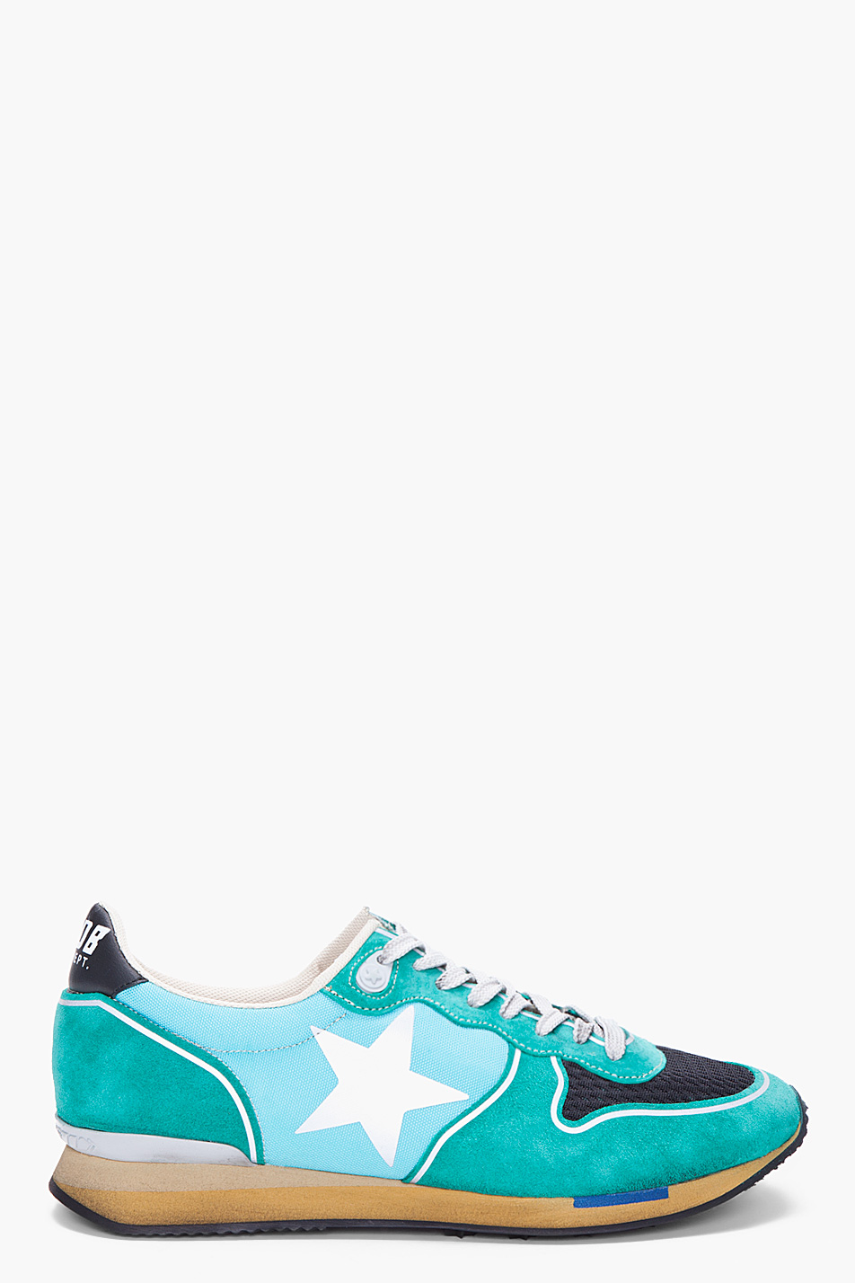 Lyst Golden Goose Deluxe Brand Teal Running Shoes In
